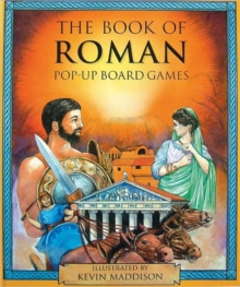 The Book of Roman Pop-up Board Games, Hardback Book