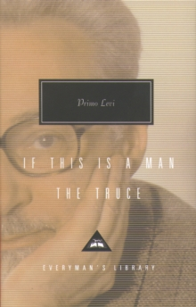 If This Is Man and The Truce, Hardback Book