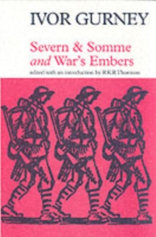 Severn and Somme, Paperback / softback Book