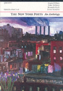The New York Poets : An Anthology, Paperback Book