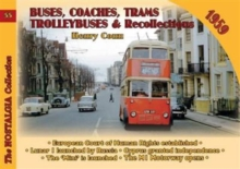 Buses, Coaches, Trolleybuses & Recollections 1959, Paperback / softback Book