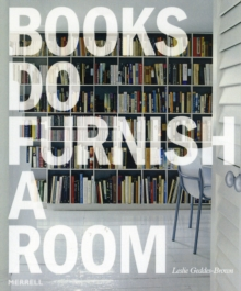 Books Do Furnish a Room, Hardback Book