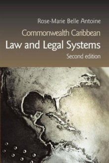 Commonwealth Caribbean Law and Legal Systems, Paperback / softback Book