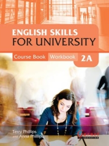 English Skills for University 2A Combined Course Book & Workbook with CDs, Board book Book