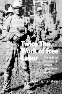 Twice the Work of Free Labor : Political Economy of Convict Labor in the New South, Paperback / softback Book