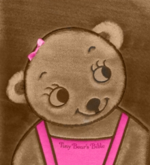 Tiny Bear's Bible Pink - mini, Board book Book