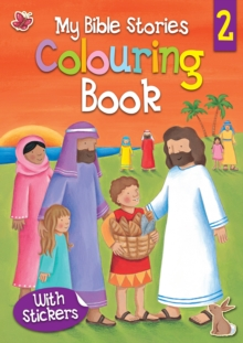My Bible Stories Colouring Book 2, Paperback Book