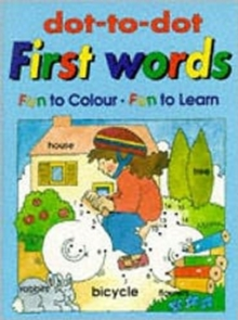 Dot to Dot: First Words, Paperback Book