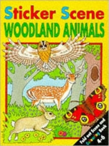 Sticker Scene: Woodland Animals, Other book format Book