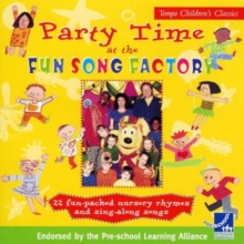 Partytime at the Fun Song Factory, CD-Audio Book