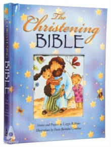 The Christening Bible (Blue), Hardback Book
