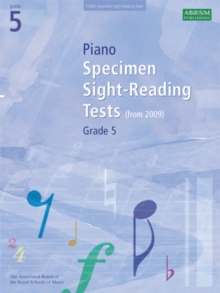 Piano Specimen Sight-Reading Tests, Grade 5, Sheet music Book