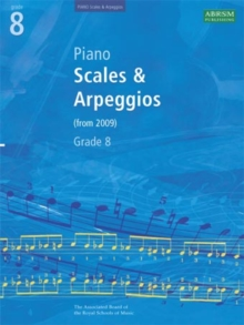 Piano Scales & Arpeggios, Grade 8, Sheet music Book