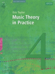Music Theory in Practice, Grade 4, Sheet music Book