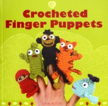 Crocheted Finger Puppets, Paperback Book