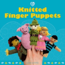 Knitted Finger Puppets, Paperback Book