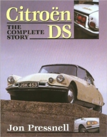 Citroen DS : The Complete Story, Hardback Book
