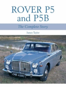 Rover P5 and P5B, Paperback Book