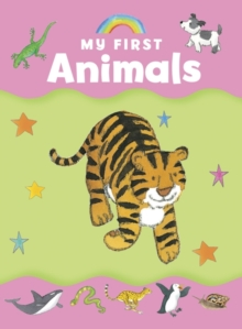 My first animals, Board book Book