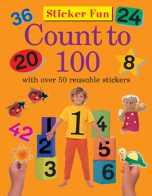 Sticker Fun - Count to 100, Paperback Book