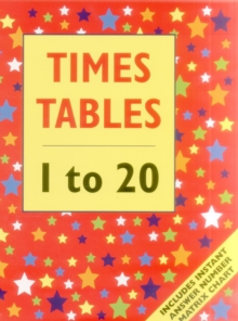 Times Tables - 1 to 20 (Giant Size), Paperback Book