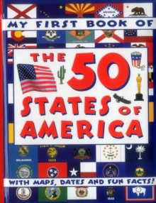 My First Book of the 50 States of America, Board book Book