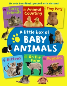 Little Box of Baby Animals, Board book Book
