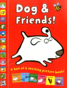 Dogs & Friends! : A Box of 6 Exciting Picture Books, Hardback Book