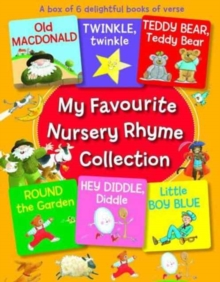 My Favourite Nursery Rhyme Collection : A Box of 6 Delightful Books of Verse, Multiple copy pack Book