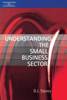 Understanding the Small Business Sector, Paperback Book