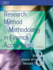 Research Methods and Methodology in Finance and Accounting, Paperback Book