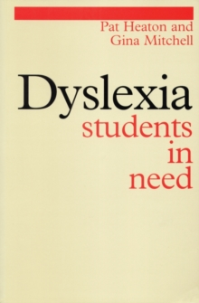 Dyslexia : Students in Need, Paperback / softback Book