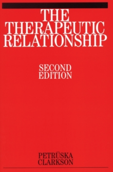The Therapeutic Relationship, Paperback Book