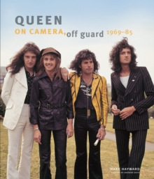 Queen, On Camera, Off Guard, Hardback Book