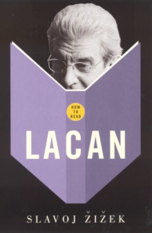 How to Read Lacan, Paperback Book