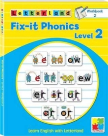 Fix-it Phonics : Learn English with Letterland Workbook 2 Level 2, Paperback / softback Book