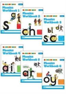 Phonics Workbooks (1-6), Paperback Book