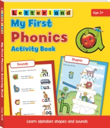 My First Phonics Activity Book, Paperback Book