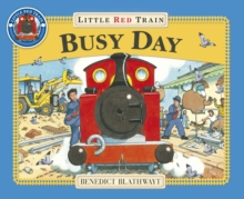Little Red Train: Busy Day, Paperback Book