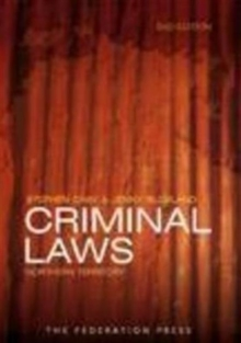 Criminal Laws Northern Territory, Paperback / softback Book