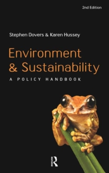 Environment and Sustainability : A Policy Handbook, Paperback / softback Book