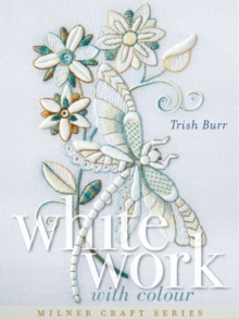 Whitework with Colour, Hardback Book