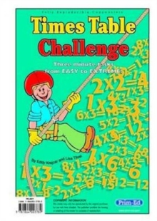 Times Table Challenge, Paperback Book