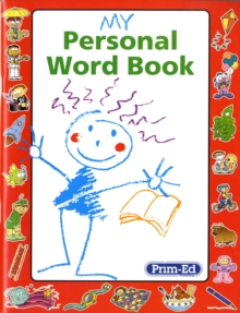 My Personal Word Book, Paperback Book