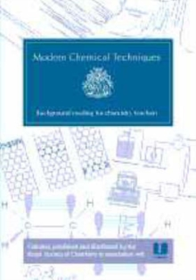 Modern Chemical Techniques : An Essential Reference for Students and Teachers, Paperback / softback Book