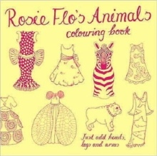 Rosie Flo's Animals Colouring Book, Paperback Book