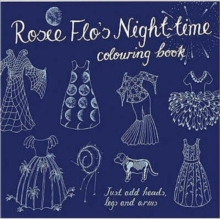 Rosie Flo's Night-time Colouring Book - navy, Paperback / softback Book