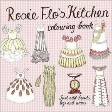 Rosie Flo's Kitchen Colouring Book - checker pink, Paperback / softback Book