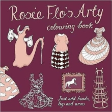 Rosie Flo's Arty Colouring Book, Paperback Book