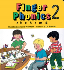 Finger Phonics book 2 : in Precursive Letters (BE), Board book Book